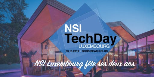 NSI TechDay Luxembourg 2019 - Walking Dinner - 2 ans NSI Luxembourg