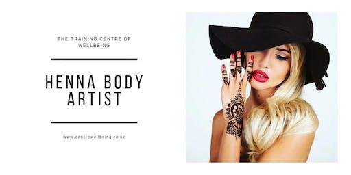 Henna Body Artist Practitioner