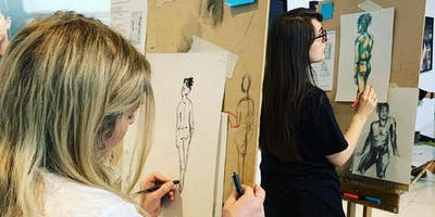 Life Drawing at Gallery Oldham: December