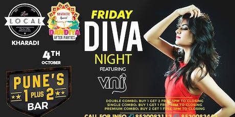 Friday Diva Night - Dj Vini tickets