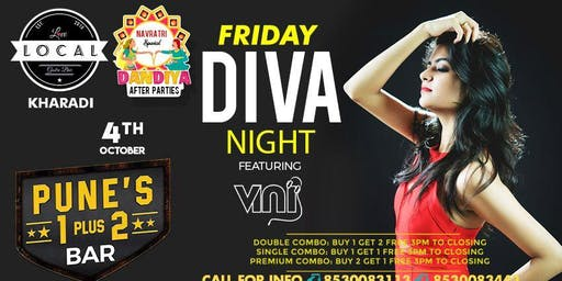 Friday Diva Night - Dj Vini