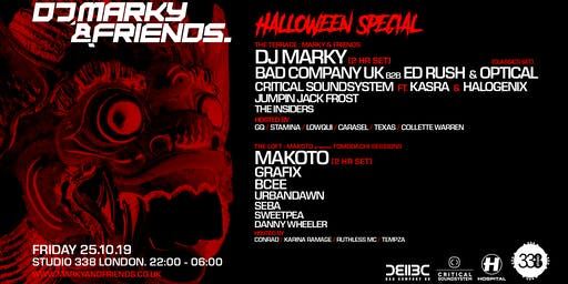 DJ Marky and Friends Halloween Special