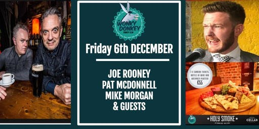 Joe Rooney and Pat McDonnell at The Wonky Donkey