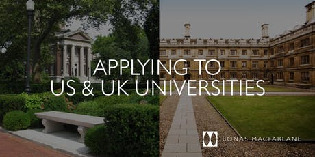 The complete guide to applying to US and UK Universities tickets
