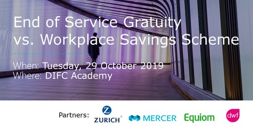 End of Service Gratuity vs. Workplace Savings Scheme