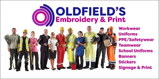 Grand Opening @ Oldfield's Embroidery and Print (B2B)