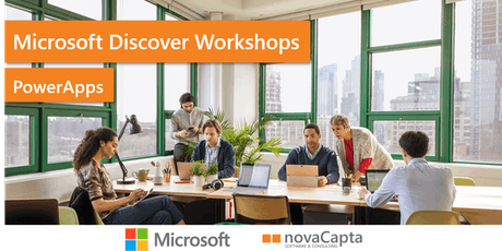 PowerApps Discover Workshops Tickets