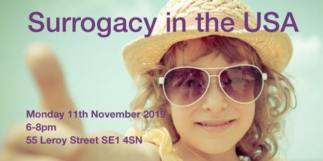 Surrogacy in the USA tickets