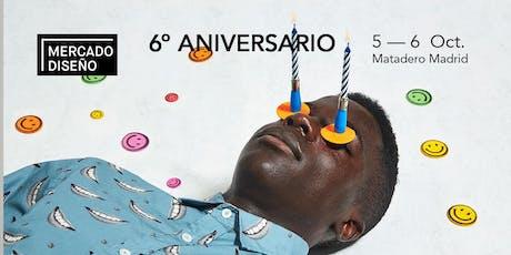 Mercado de Diseño celebra su 6º aniversario en Matadero, ¡no puedes faltar! entradas