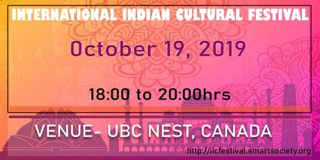 International Indian Cultural Festival tickets