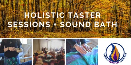 Holistic Taster Sessions + Sound Bath tickets