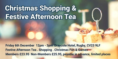 Christmas Shopping and Festive Afternoon Tea