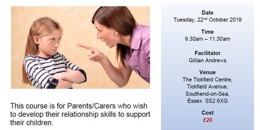 Developing Positive Relationships for Parents
