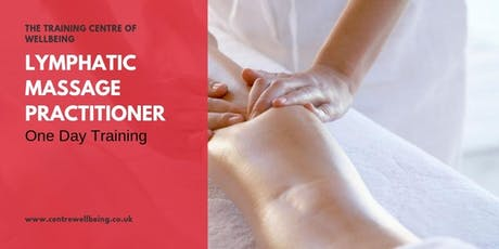 Lymphatic Massage Practitioner tickets