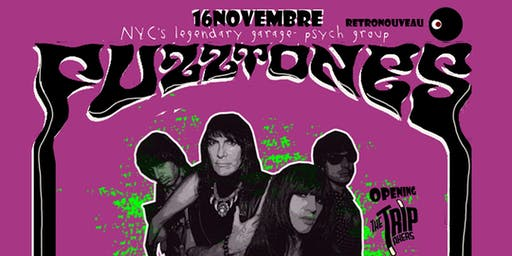 The Fuzztones live at Retronouveau - opening The T