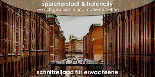Speicherstadt & Hafencity - erkunden Sie Hamburg bei einer Schnitzeljagd