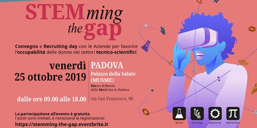 STEMming the gap: conferenza e recruiting day per favorire l'occupabilità