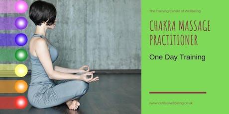 Chakra Massage Practitioner tickets