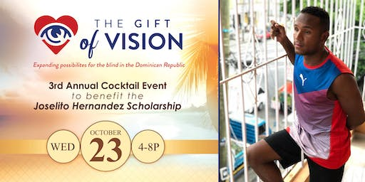 Third Annual Gift of Vision Cocktail Event