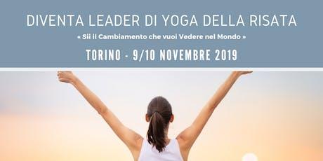 Leader Training Yoga della Risata - Torino biglietti