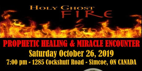 Shammah Outreach Ministries - Prophetic Healing and Miracle Encounter tickets