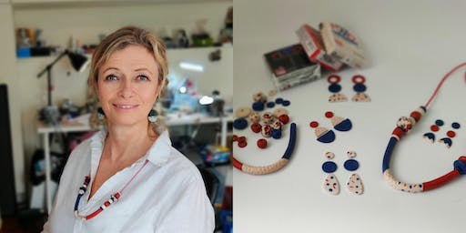 Polymer Clay Jewellery Workshop with Fiona Herbst