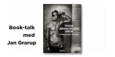 Book-talk med Jan Grarup - NY tickets
