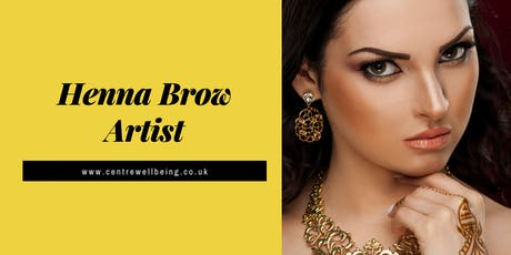 Henna Brow Styling Practitioner Course tickets