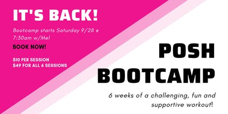 POSH® FALL BOOTCAMP tickets