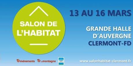 salon Habitat de Clermont-Ferrand billets