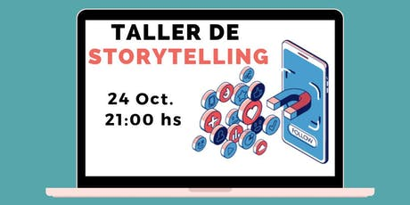 Taller de Storytelling: el Poder de las Historias en Marketing entradas
