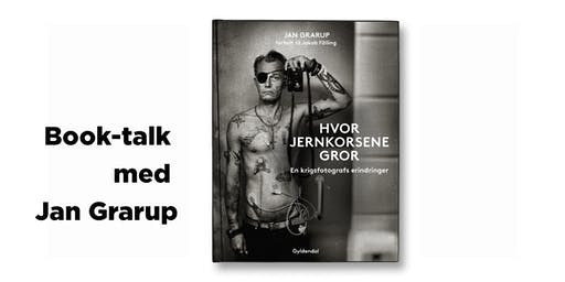 Book-talk med Jan Grarup - NY
