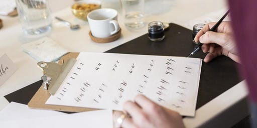 Introduction to Modern Calligraphy at Nordish, Saltaire