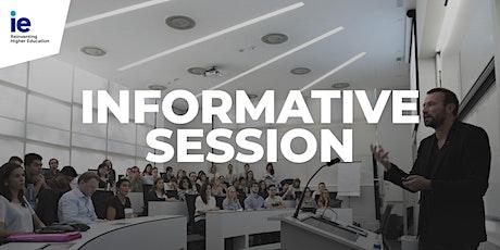 Individual Informative Session Lisbon Portugal: Bachelor programs bilhetes