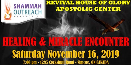 Shammah Outreach Ministries Apostolic Center -Prophetic Healing-Deliverance tickets