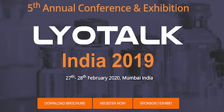 Lyotalk  India Annual Conference & Exhibition 2020 tickets