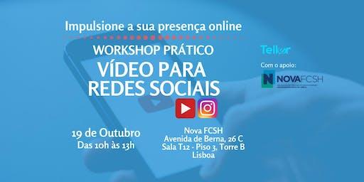 Workshop prático: vídeos para redes sociais