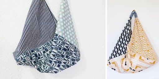 Japanese Shoulder Bento Bag