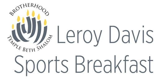 Leroy Davis Sports Breakfast 2019