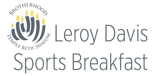Leroy Davis Sports Breakfast 2019