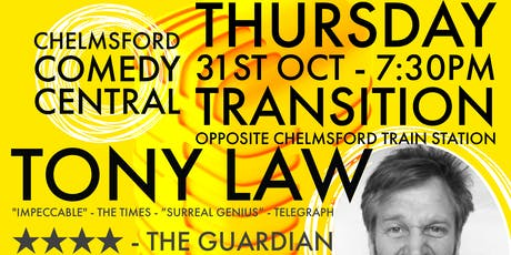 LIVE COMEDY -TONY LAW, ABI ROBERTS, DARREN WALSH, ANDY POOLE - CCC tickets