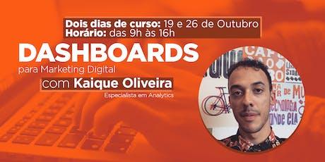 Criação de Dashboards para Marketing Digital ingressos