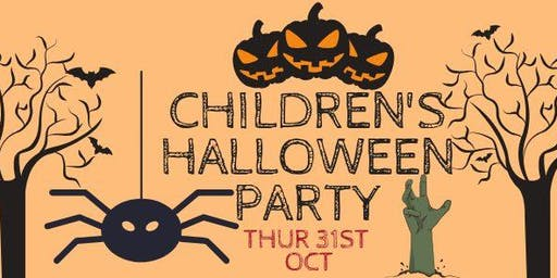THURSDAY CHILDREN'S HALLOWEEN PARTY