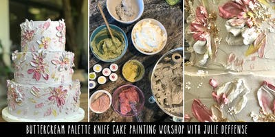 Buttercream Cake Painting Workshop