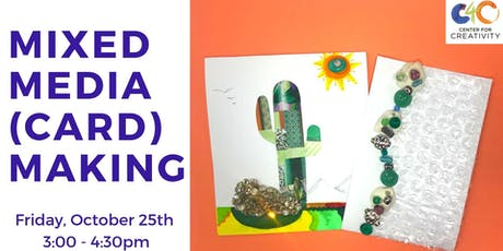 Session: Mixed Media (Card) Making tickets