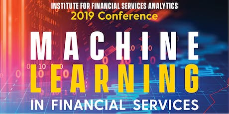 Machine Learning in Financial Services Conference tickets