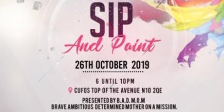 Sip and Paint UK tickets