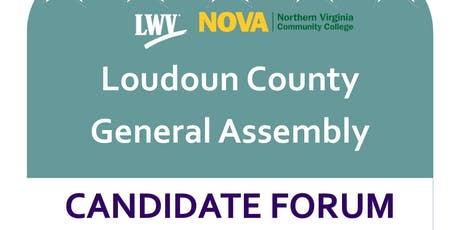 LWVLC General Assembly Candidate Forum tickets