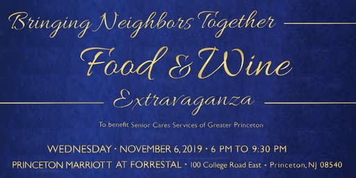Bringing Neighbors Together - A Food & Wine Extravaganza