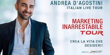 Marketing inarrestabile - Andrea d'Agostini live tour (Bari) biglietti